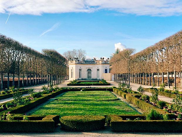 Giardino alla francese, Petit Trianon (Ovest).