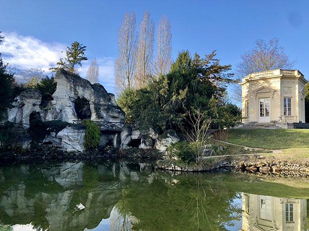 Il Rocher e Belvedere, giardino anglo-cinese del Petit Trianon, Versailles