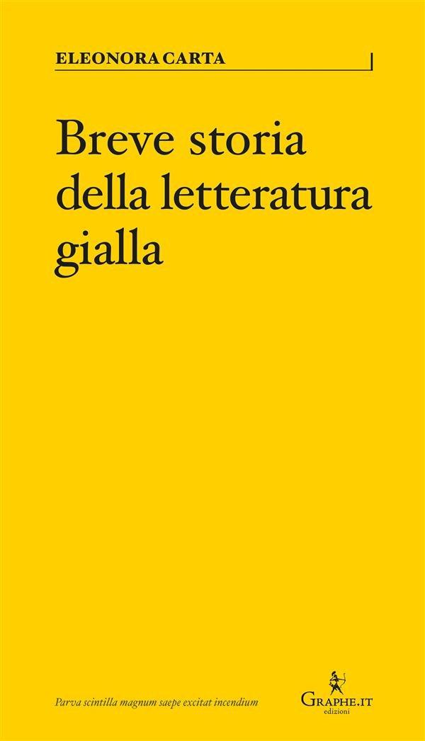 Breve storia della letteratura gialla